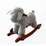 Лошадка-качалка с колесиками Овечка GS5055W