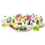 Trase vilciena Pilsēta un tās apkārtne Woody WD93062