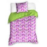 Bērnu gultas veļas komplekts Pūces 160x200 cm COL173002B