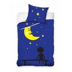 Bērnu gultas veļas komplekts Mēness 160x200 cm MOON02