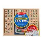 Bērnu zīmogi angļu alfabēts un cipari Melissa & Doug 40118