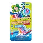 Akvareļu zīmuļu komplekts Jolly Aqua Supersticks. 12 krāsas+ metāla kaste 3001-0001