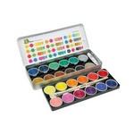 Akvareļu krāsas zīmēšanas komplekts 24 Jolly Supertabs water paint 9335-0002