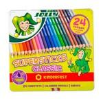 Krāsaino zīmuļu komplekts 24 Jolly Supersticks Classic 3000-0501