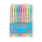 Gēla pildspalvu komplekts Swirl Buddy and Barney BAB035