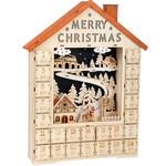 Adventes kalendārs Merry Christmas Small foot 11788