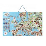 Magnētiskā puzle – Eiropas karte Woody WD91231