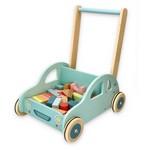 Stumjama rotalļieta Mašīna ar klučiem Lelin L10338