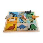 Koka puzle mazuļiem Dinozauri Magni MG3275