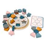Figūru šķirotājs un krāsu spēle ar kartiņām Viga V44050