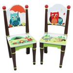 Krēslu komplekts Fantasy Fields, handmade TD-11740A