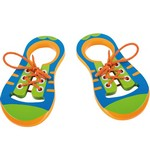 Šņorējamas (Veramas) koka kurpes  Small foot 110152
