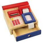 Kases aparāts ar kalkulatoru un čeka lenti SanToys ST132