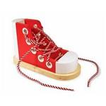 Šņorējamas (Veramas) koka kurpes Melissa & Doug 13018