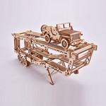 Mehāniskais 3D puzzle Džips un Treileris Wood Trick WT018