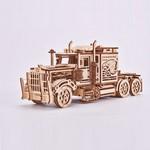 Mehāniskais 3D puzzle Amerikāņu kravas auto Wood Trick WT015