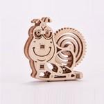 Mehāniskais 3D puzzle Gliemezis Wood Trick WT033