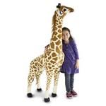 Augstvērtīga mīksta plīša rotaļlieta Žirafe 140 cm Melissa and Doug 12106