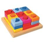 Ģeometriskās figūras Piramīda Bino 72438
