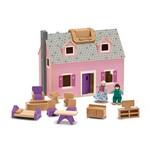 Atveramā leļļu māja ar mēbelēm Melissa and Doug  13701