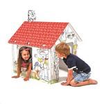 Saliekama kartona māja