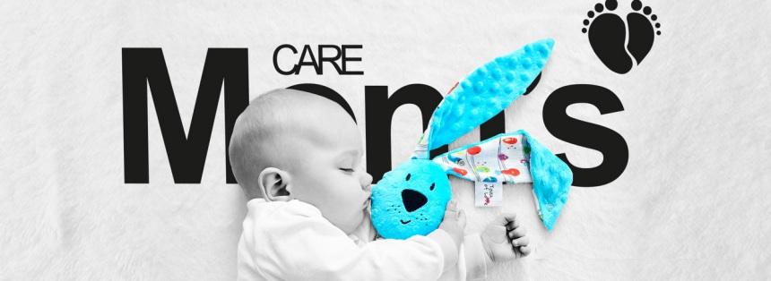 Mīksta rotaļlieta Trusis Kic Kic Moms Care