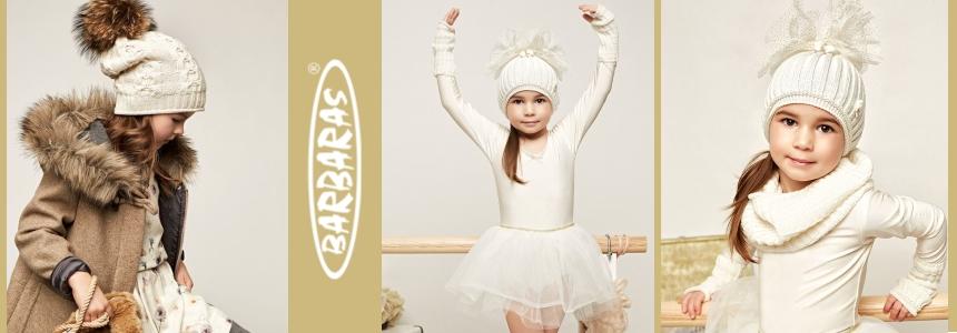 Barbaras stilīgas un siltas bērnu cepures