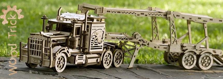 Mehāniskais 3D puzzle Wood Trick